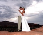 Las Vegas Painted Desert wedding