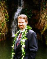 another waterfdall wedding in maui